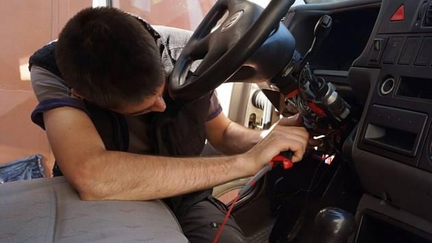 Instalace GPS