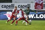 Fotbalisté Jablonce se ve 12. kole FORTUNA:LIGY utkali s vedoucí Slavií. Foto: FK Jablonec/Michal Vele