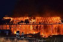 Požár v Nové Vsi n. N.