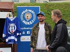 Den hokeje organizuje v Jablonci, v sobotu 23. 9. od 9 hodin, hráč ligového týmu Jakub Mulač.