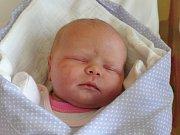 Elena Horáčková se narodila Lence a Josefovi Horáčkovým z Chutnovky 4.2.2015. Měřila 49 cm a vážila 3450 g.