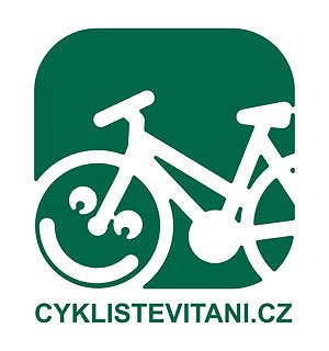 Logo Cyklisté vítáni