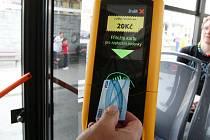 Bezkontaktní platba jízdenek