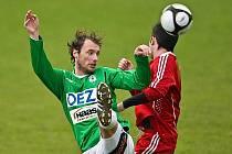 Fotbalové béčko Baumitu ani na domácím hřišti se nedočkalo plného zisku tří bodů a remizovalo s posledním Vyšehradem 0:0.