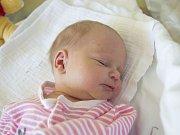 VERONIKA MIŠKOVÁ se narodila v úterý 16. května mamince Aleně Miškové z Jablonce nad Nisou. Měřila 47 cm a vážila 2,35 kg.