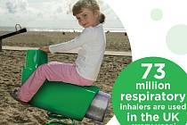 Ve Velké Británii sesbírali za rok 73 milionů inhalátorů