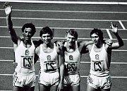Vynikající český atlet Karel kolář drží český rekord v běhu na 400 mterů více jak třiet let. jeho hodnota je 45.77 vtřein a vytvořen byl na ME v roce 1978 v Praze.
