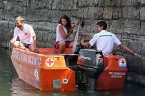 Vodní záchranná služba Jablonec nad Nisou.