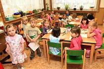 I v Lučanech n. N. pro letošní rok rozšířili mateřskou školu ze dvou tříd na tři.