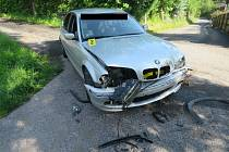 Nehoda v Plavech.