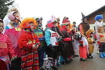 Karneval na lyžích v Bedřichově.
