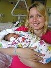 Anna Žofčinová se narodila Simoně a Janovi Žofčinovým z Haratic 13. 4. 2016. Měřila 47 cm a vážila 2850 g.