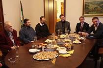 Setkání vedení města Jablonec s duchovními