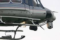 Vrtulník s termovizí.