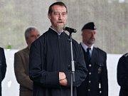 Oldřich Kolář, děkan římskokatolické farnosti v Jablonci nad Nisou před zahájením programu.