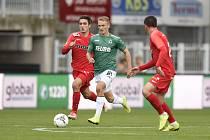Fotbalisté Jablonce porazili v poháru Brno 3:2 a postoupili do osmifinále MOL Cupu.