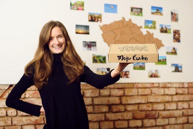 Zuzana Cabejšová, autorka oblíbeného vlogu, projektu Moje Česko a zapálená turistka.