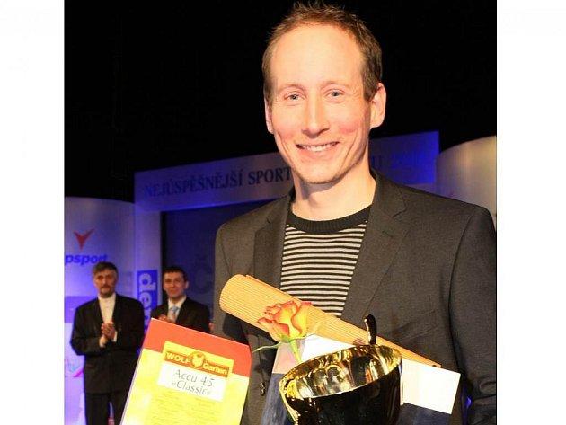 Lukáš Bauer kraluje, stal se nejúspěšnějším sportovcem Libereckého kraje za rok 2009.