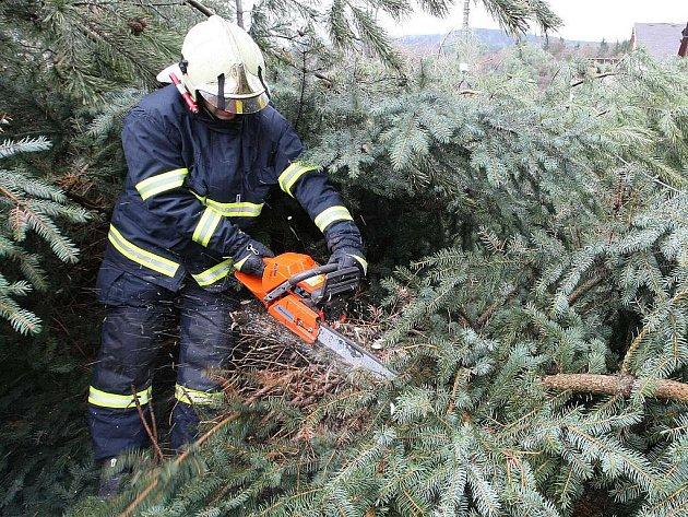 Vybavení profesionálních hasičů. Ilustrační snímek.