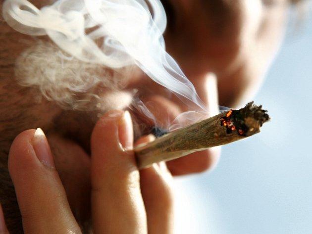 Ilustrační foto ke kouření marihuany.