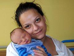 Lucie Hoření se synem Matyášem