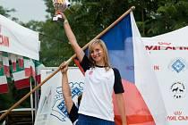 Lenka Špidlenová a Leon na MS v agility juniorů skončili se stříbrem