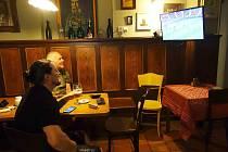 Fanoušci fotbalu v Jablonci nad Nisou.
