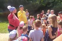 VNáruči bylo rušno ale také o prázdninách, během kterých se zde střídaly příměstské tábory pro předškoláky, pro děti zpěstounských rodin a školní letní kempy.