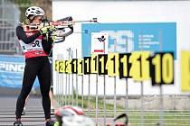 Jablonec o víkendu hostil mistrovství republiky v biatlonu na horských kolech.