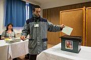 Vězni ve Věznici Rýnovice v Jablonci nad Nisou odevzdali 12. ledna své hlasy kandidátům v prvním kole volby prezidenta České republiky.