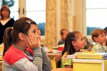 První den v Masarykově základní škole Zásada