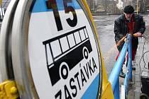 Autobusové nádraží v Jablonci