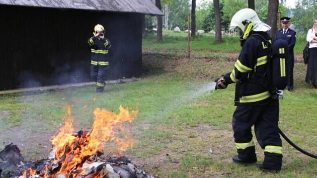 """Rozlučkový """"požár"""" Daniela Karbana"""