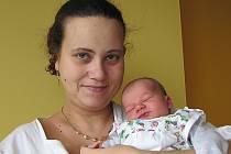 Lucia Škúciová se synem Sebastianem