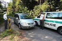 V úterních (29. června) odpoledních hodinách uzavřela Policie ČR přístup do lesa poblíž Rádla směrem na Milířskou lávku. Žádný z přítomných policistů nemohl prozradit detaily vyšetřování. Podle dostupných informací jde o násilný trestný čin.