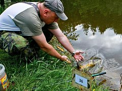 V sobotu 12. června se na jabloneckou přehradu vrátily po deseti letech rybářské závody.