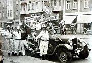 Sbor dobrovolných hasičů Lučany nad Nisou. Historické fotostřípky.