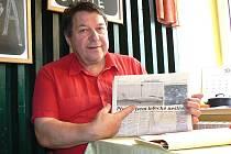 Jan Malaník z Jablonce nad Nisou je jedním ze 43 lidí, kteří přežili pád letadla McDonnell Douglas DC-9 30. října 1975 do zahrádkářské kolonie Praha Suchdol.
