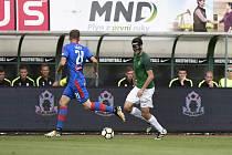FK Jablonec - Viktorie Plzeň 0:1. Ve druhém poločase byli domácí výrazně lepší, více štěstí ale měla tentokrát Plzeň.
