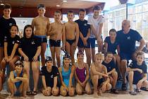 Na Velkou cenu TJ Bižuterie a města Jablonce se připravovala také skupina C plaveckého oddílu TJ Bižuterie s trenérem Michalem Svobodou.