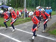 Sbor dobrovolných hasičů Frýdštejn. Soutěž v Bozkově.