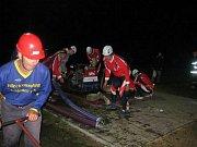 Sbor dobrovolných hasičů Frýdštejn. Soutěž Noční Karlinky.