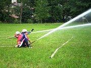 Sbor dobrovolných hasičů Frýdštejn. Soutěž v Peřimově.