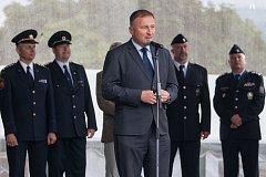 Petr Beitl, primátor Jablonce, před zahájením programu.