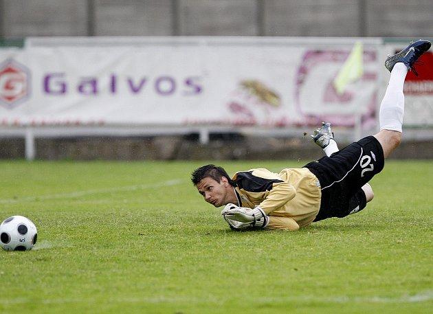 Gólman FK Baumit Jablonec Lukáš Zich