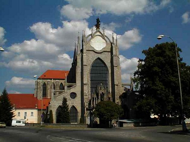Katedrála Nanebevzetí Panny Marie v Kutné Hoře.