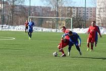V dalším přípravném utkání  divizní áčko Mšena za soupeřem pokulhávalo. Trenér  Mšena Jaroslav Vodička hodnotil prohru 5:0 slovy, že gólů mohli dostat ještě víc.