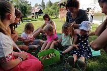 Pohádkové herničky v Železném Brodě připravuje Rodinné centrum Andílek.