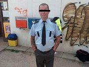 Falešný policista.