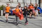 Přivítání dětského pěveckého sboru Iuventus, gaude! proběhlo 25. července na Mírovém náměstí v Jablonci nad Nisou. Děti se vrátily z Olympijských her sborového zpěvu World Choir Games 2018 v Jihoafrické republice.